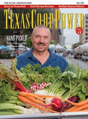 July 2019 Texas Co-op Power Magazine Cover
